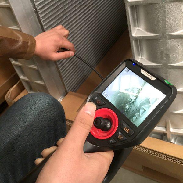 Teollinen HD videoendoskooppi