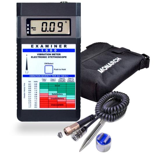 Monarch vibration meter